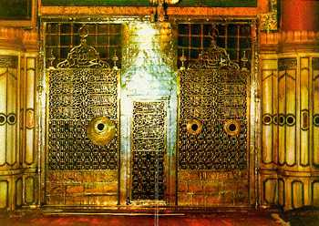 Golden_Gate__Prophet_Muhammad_Tomb_SAW